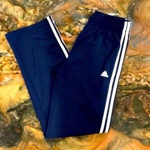 Adidas boys jogger track pant tri stripe 14/16